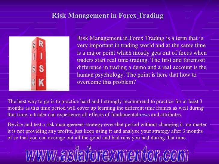 Forex broker risk management