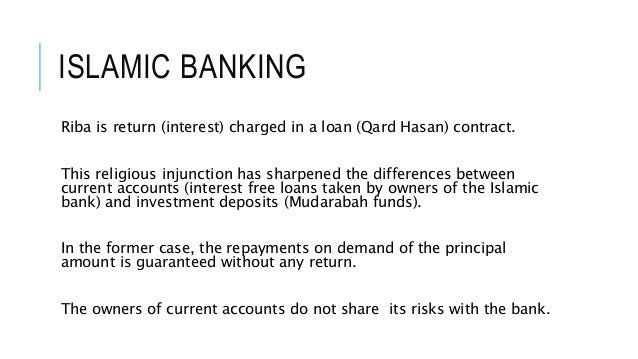 interest rate risk in islamic banking Risk management in islamic banks 1 prohibition of interest (riba) 2 investment risk and fx rates suffered.