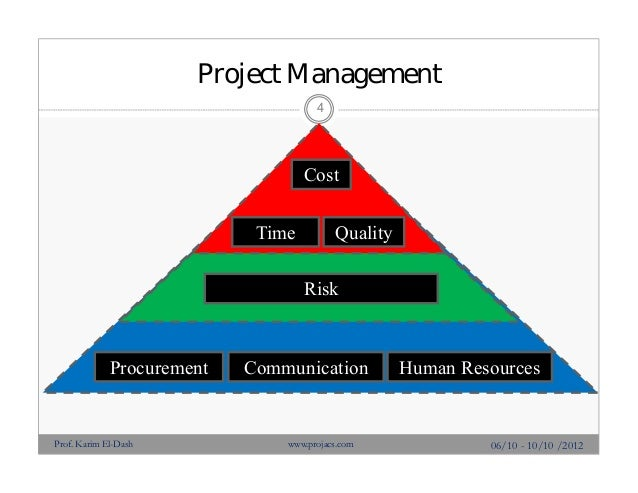 managing project quality and project risk Project advisory project risk management  quality, safety and technical  leadership or to the team responsible for managing the construction phase of the project.