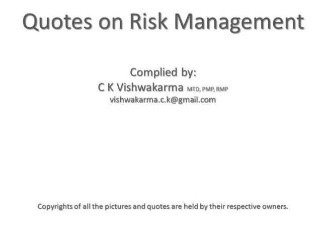 How Can Manager Against Risk of Associated