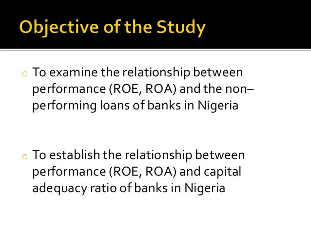 working capital management and its effect on banks profitability in nigeria Effects of working capital management on the profitability of nigerian   financing, trade credit and short term bank loans to finance their needed  investment in.