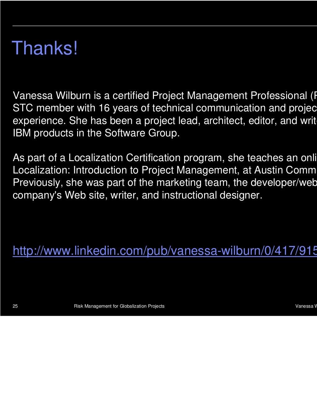 Thanksvanessa Wilburn Is A Certified