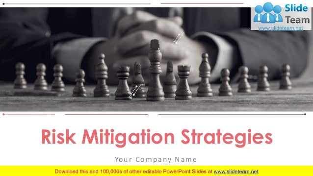 Risk Mitigation Strategies PowerPoint Presentation Slides