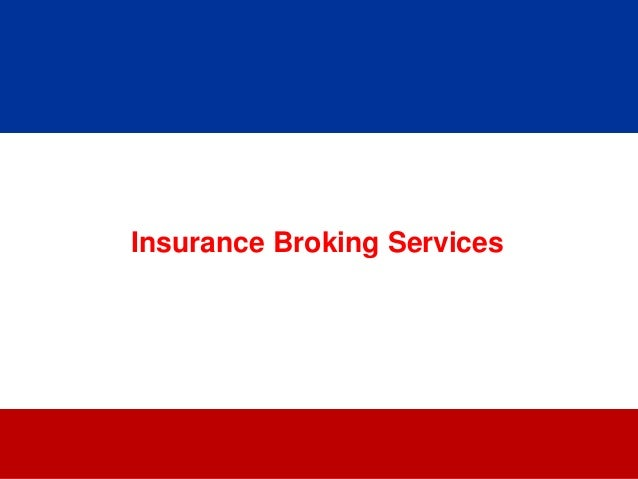 Insurance Broking Definition