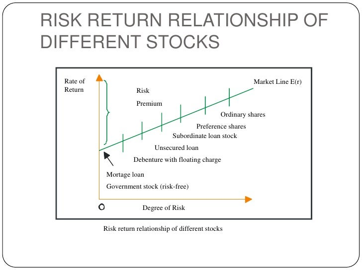 explain the risk return relationship