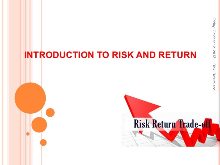 portfolio effect on risk and return Risk and return - authorstream  this is attributed to diversification effect  risk-return relationship for portfolio of risky and risk-free securities.