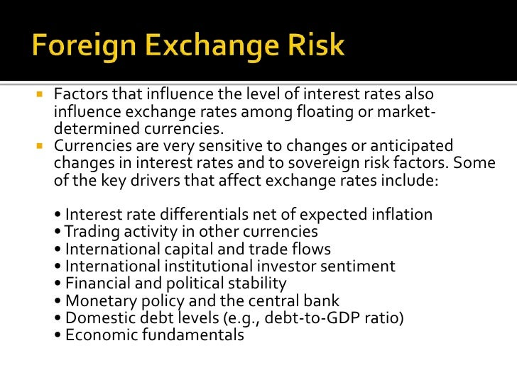 exchange risks essay Free essay on managing foreign currency risk in business available totally free at echeatcom, the largest free essay community.