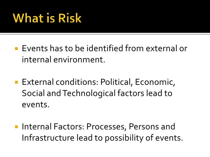 effect of internal of safeguarding assets Which of the following is an internal event he should consider as he develops a risk management plan safeguarding assets, financial statement reliability.