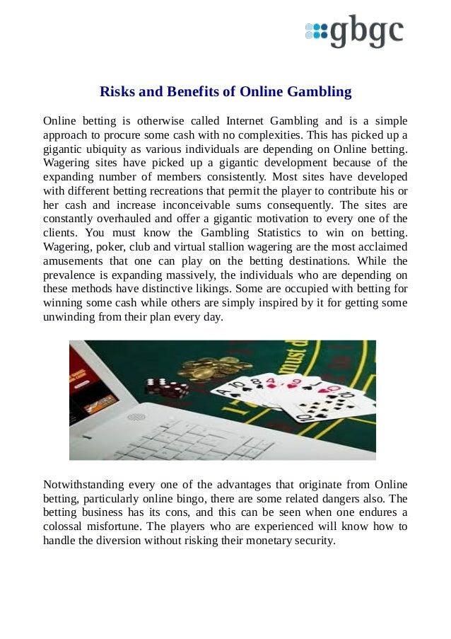 Benefits Of Gambling
