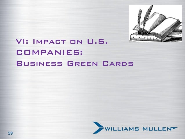 Risks and rewards of immigration reform august 27 2013 vi impact on us companies business green cards 59 reheart Image collections