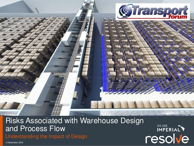 4 November 2015 Risks Associated with Warehouse Design and Process Flow Understanding the Impact of Design