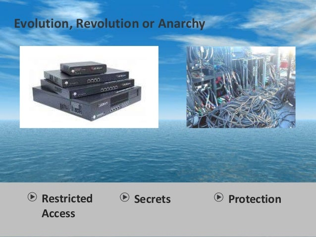 Restricted Access Evolution, Revolution or Anarchy Secrets Protection