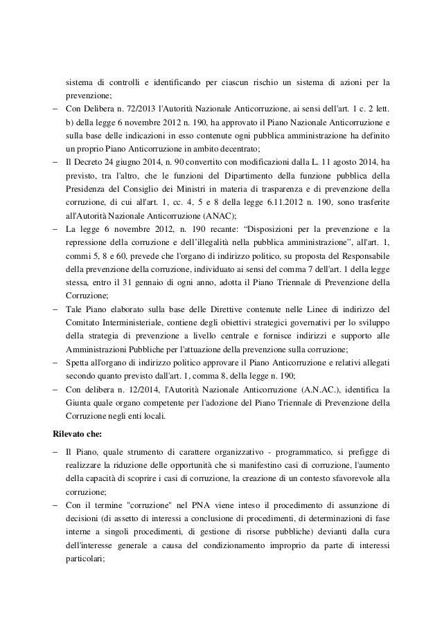 Risoluzione anti corruzione Slide 2