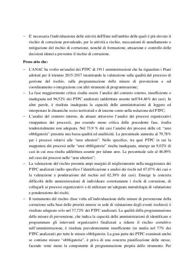 Risoluzione anti corruzione Slide 3