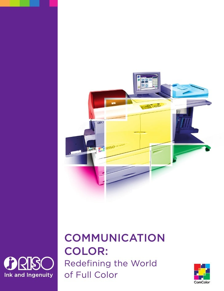 CommuniCation Color: Redefining the World of Full Color          �