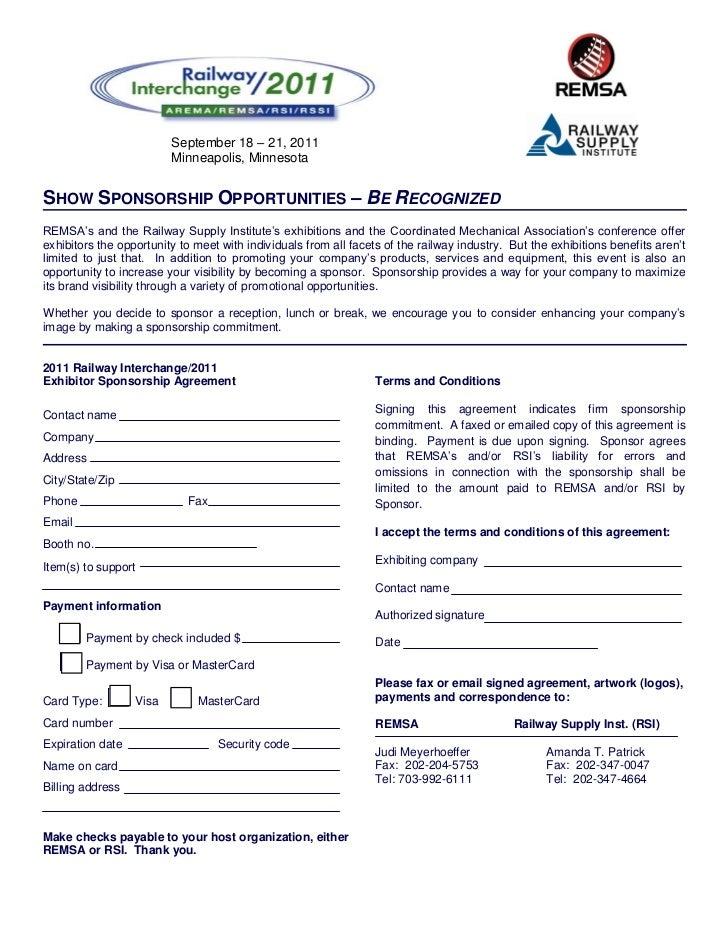 September 18 – 21, 2011                         Minneapolis, MinnesotaSHOW SPONSORSHIP OPPORTUNITIES – BE RECOGNIZEDREMSA'...