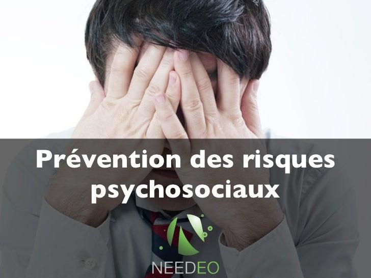 La Prevention Des Risques Psychosociaux En Entreprise