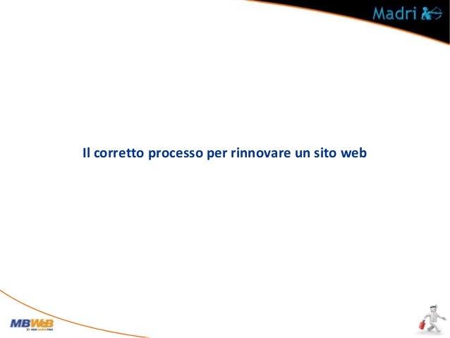 1° - WEB MARKETING Contattare un esperto di Web Marketing che possa consigliare una buona strategia in termini di visibili...