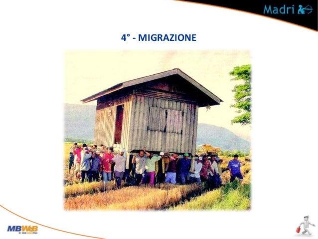 4° - MIGRAZIONE Cosa è la migrazione di un sito? Mantenere il potenziale a livello di Pagerank e Trust Perché è importante...