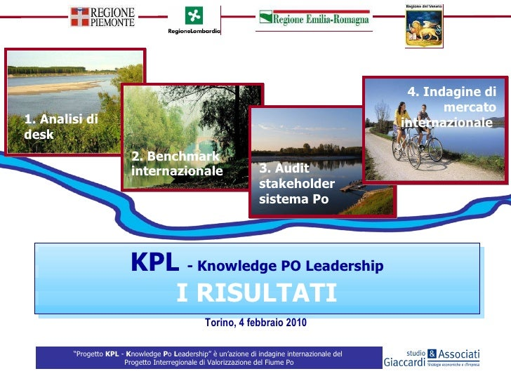 KPL  - Knowledge PO Leadership I RISULTATI 1. Analisi di desk  2. Benchmark internazionale  3. Audit stakeholder sistema P...