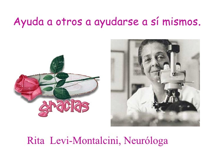 rita levi montalcini essay Dr rita levi-montalcini, a nobel prize-winning neurologist who discovered  critical chemical tools that the body uses to direct cell growth and.