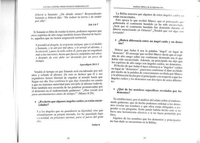 I'I]CHA CONTM PRINCIPADOSDEMONIACOS = === NIA!os Asmodeo'.Aparece en el libro deuterocanónicode Tobías (3:17).Ahí sl hacer...