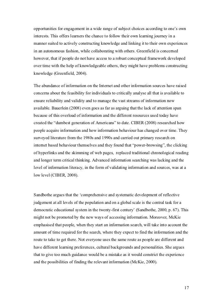 Online thesis kop
