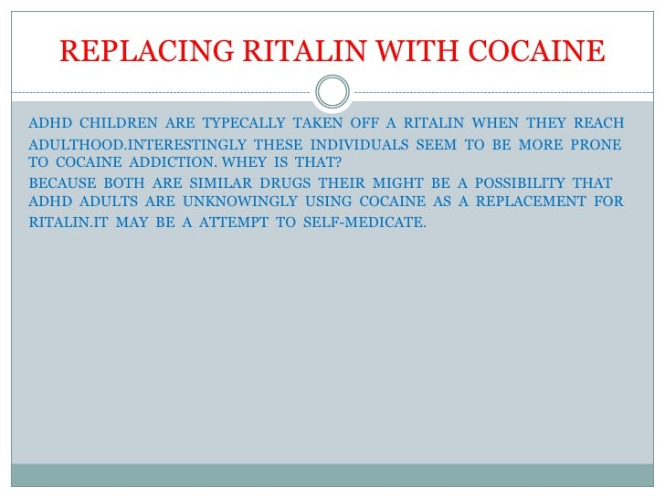 adhd ritalin adults