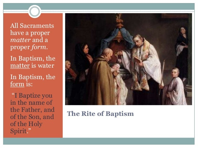 The didache the ritual of baptism