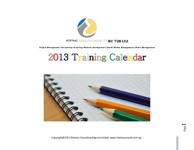 RC 728132Project Management Consulting::Training::Website Development::Social Media Management::Event Management       201...