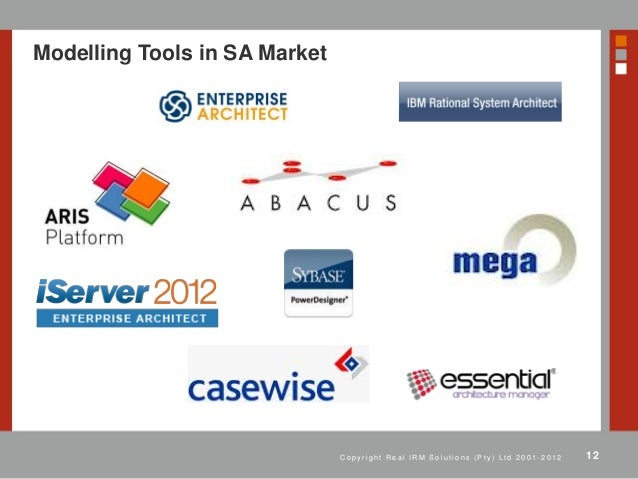 the use of modelling tools for enterprise architecture