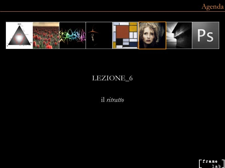 LEZIONE_6 il  ritratto Agenda