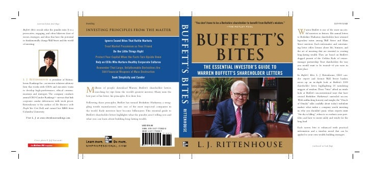 """""""You don't have to be a Berkshire shareholder to benefit from Buffett's wisdom.""""                             —THE MOTLEY F..."""