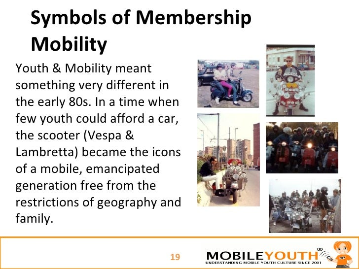 Symbols Of Membership Mobility Youth