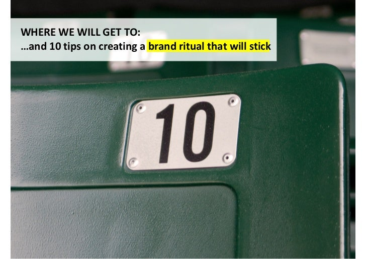 Ritual is not the same as habit or routine(useful as these may be)                   This is auto-pilot activity driven by...