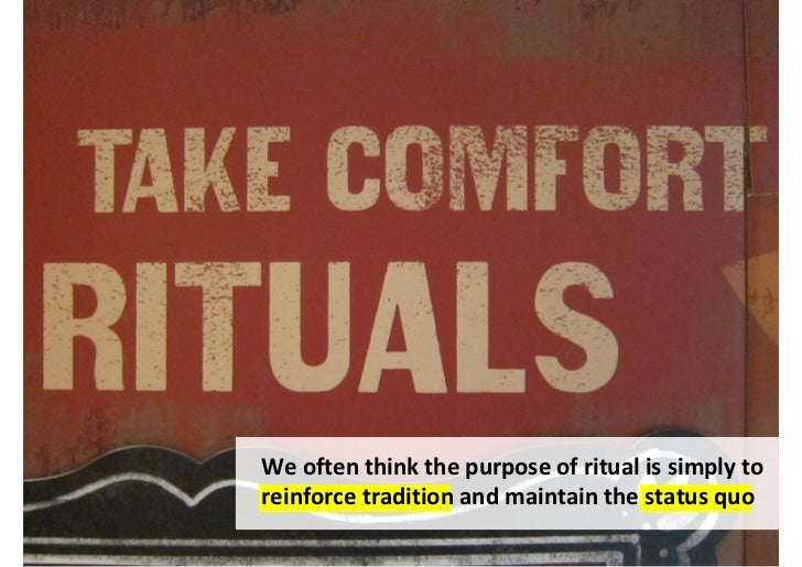 Ritual is a doorway to potential: a 'thresholdspace' where anything is possible                                     http:/...