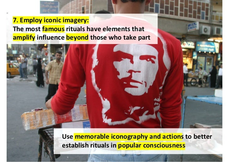 9. Share it around:If ritual is about group belonging, the morepeople who take part the better                 Make ritual...