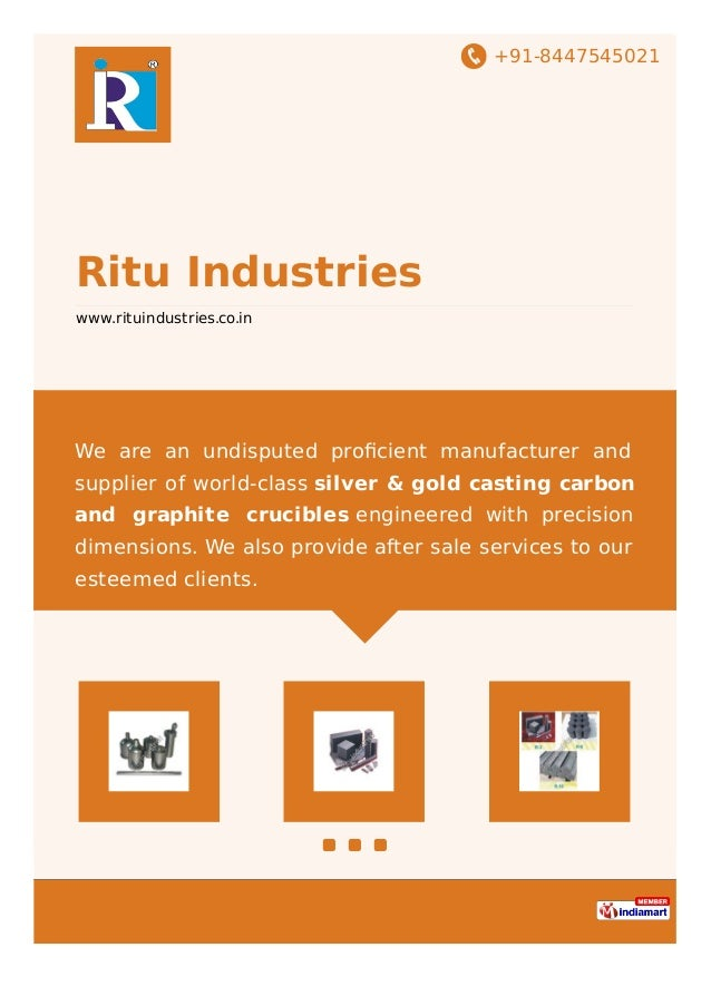 +91-8447545021 Ritu Industries www.rituindustries.co.in We are an undisputed proficient manufacturer and supplier of world-...