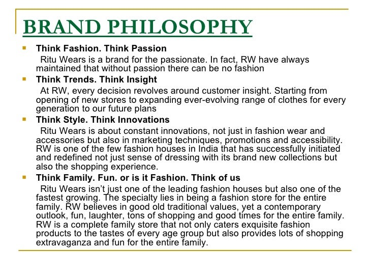 newe brand philosophy
