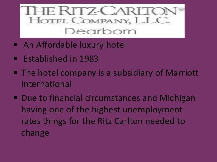 Ritz carlton  dearborn Slide 2