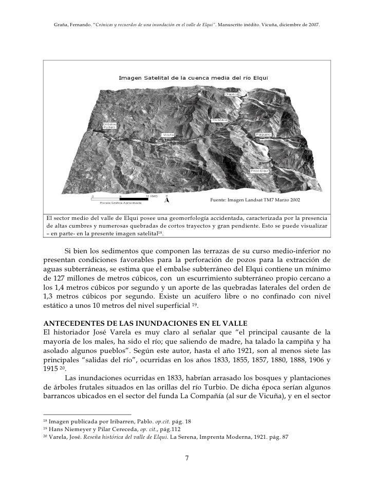 Inundacion en rivadavia valle de elqui chile a o 1934 for Terrazas 14 vicuna