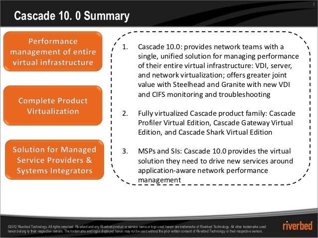 3    Cascade 10. 0 Summary                                                                                 1.         Casc...