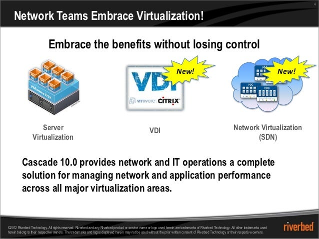 4    Network Teams Embrace Virtualization!                            Embrace the benefits without losing control         ...