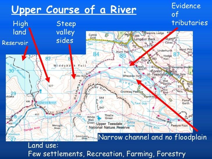 River Changes And Landforms - Map of egypt landforms