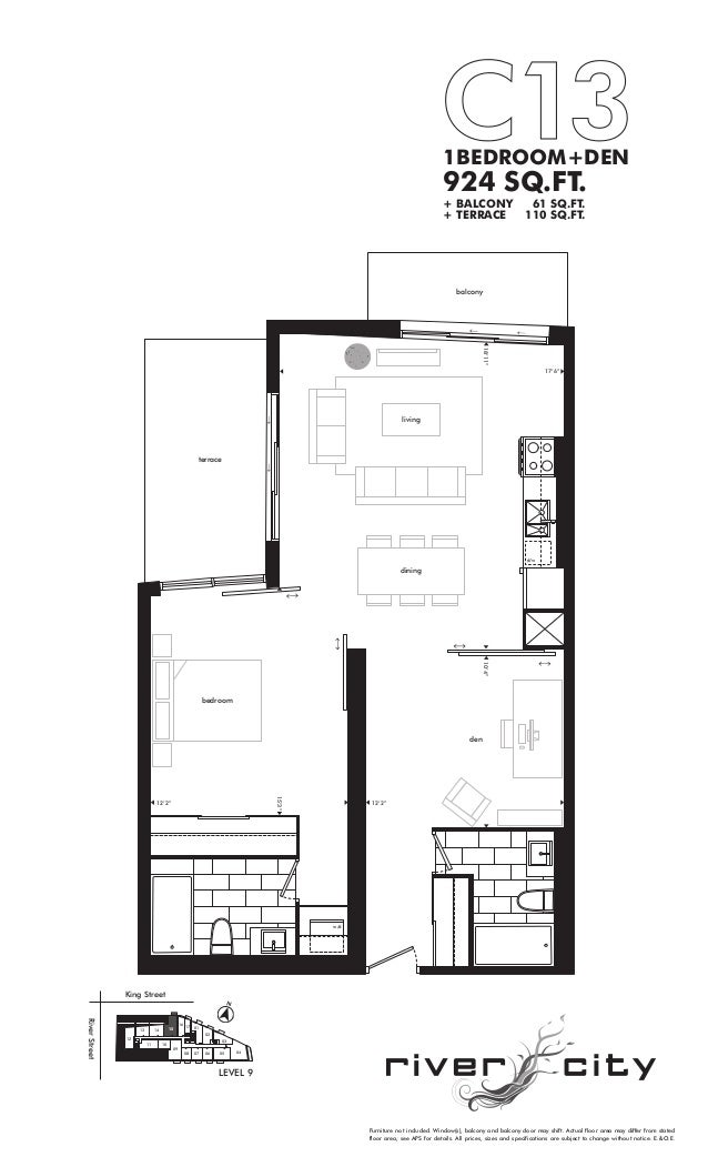 River City Condos Phase 1 Floor Plans Thefloors Co