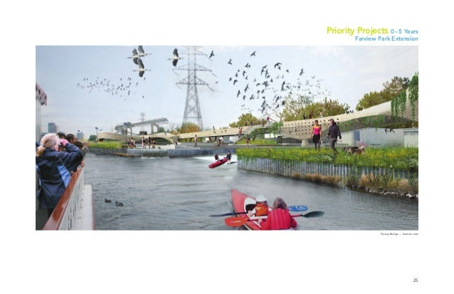 25 Flyway Bridge — boaters view Priority Projects 0–5 Years Farview Park Extension