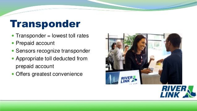 Registered Plate  Prepaid account  License plate recognized  Toll deducted from account  Rates are higher than with a ...