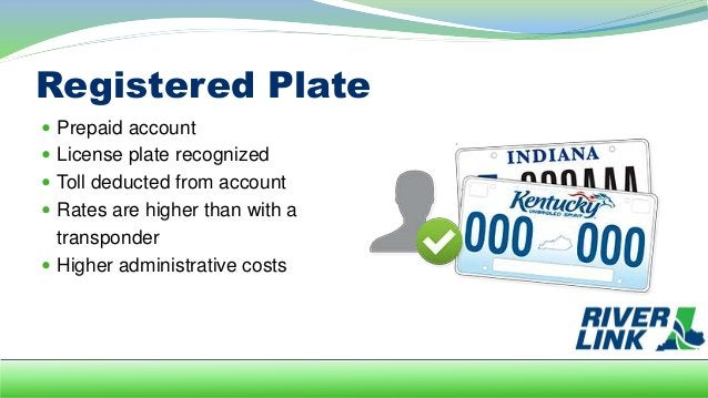 No Prepaid Account  No transponder  No registered plate  License plate photographed on each crossing  Invoice sent in ...