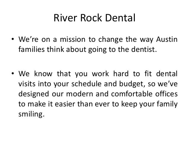 River Rock Dental – The Best Dentistry Slide 2