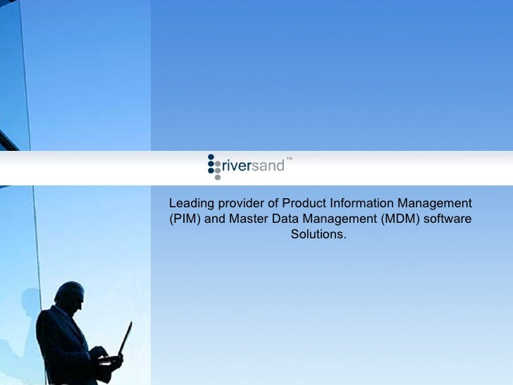 Leading provider of Product Information Management (PIM) and Master Data Management (MDM) software Solutions.